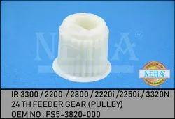 24 Th Feeder Gear (Pulley)  IR 3300 / 2200  / 2800 / 2220i  / 2250i. / 3320n , Fs5-3820-000