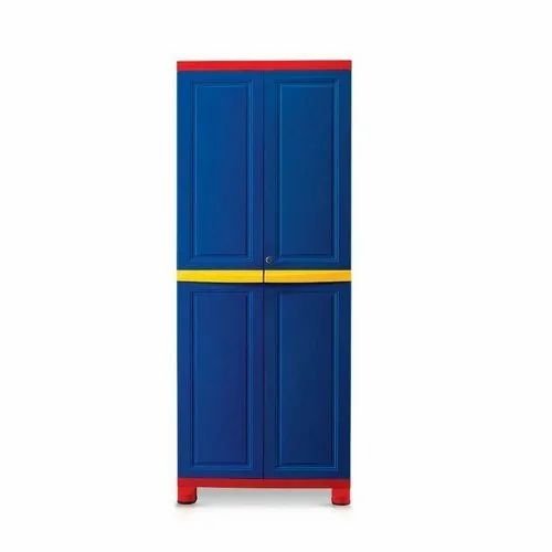 Hinged Nilkamal Wooden Almirah, For Home, Number Of Doors: Double Door