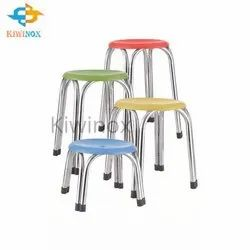 SS Color Coating Stool