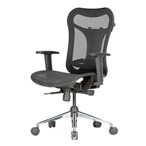 3 6 Feet Black Fp Optima Mb Mesh Seat Back Executive Office Chair