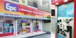 Mahindra EPC Retail Branding Identity Design Services