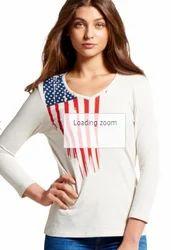 Girls Long Sleeve T Shirt