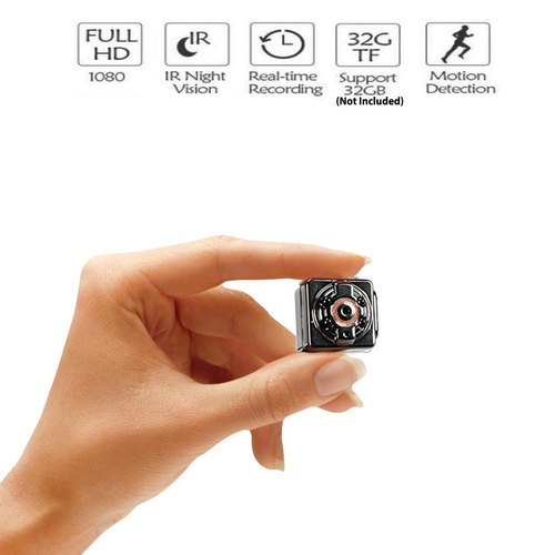 HD mini Infrared camera security micro spy camera IR night vision spy hidden