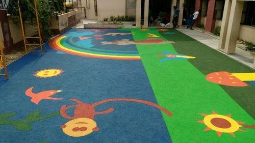 Rubber Flooring - Playground Rubber Flooring Manufacturer