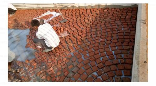 Terrace Waterproofing Brick Bat Coba