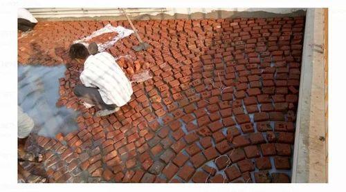 Terrace Waterproofing Brick Bat Coba