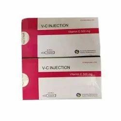 Vitamin C Injection, 10 Ampulesx2ml