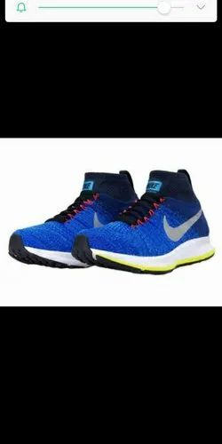 Running Shoes Blue Nike Zoom Allout