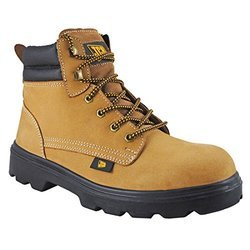 Anti-Skid for Industrial JCB Trekker Safety Shoes, Size: 8