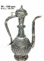White Metal Surahi