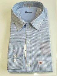 Muscari Casual Wear Mens Cotton Printed Shirt