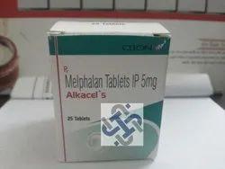 Alkacel Melphalan 5mg Tablet, Packaging Type: Bottle