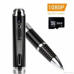 Black Spy Pen Camera Hd Version, For Outdoor, CCD