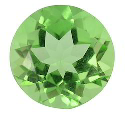 Green Glass Peridot Gemstone
