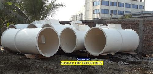 FRP DUCTINGs Cylindrical, Rectangular FRP DUCTING, for Industrial Use