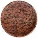 Red Home Decor Large 8 Granite Tray
