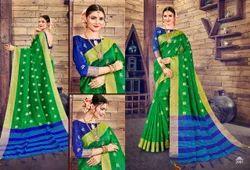 Sangam Patni Handloom Silk Saree