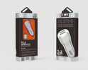 EMY 3.4amp Car Mobile Charger