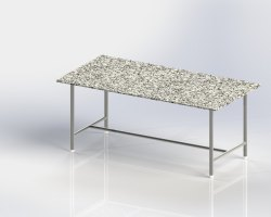 Work Table With Granite Top