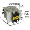 200 AMP AC TO AC SOLID STATE RELAY