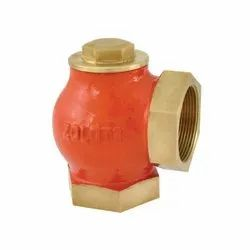 1010A Bronze Angle Type Lift Check Valve