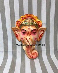 Ganesh Ji Mask Plastic