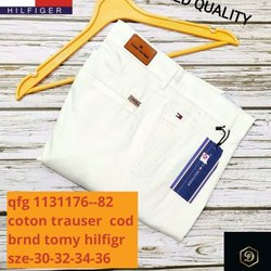 Tomy Hilfiger Cotton Trousers For Men