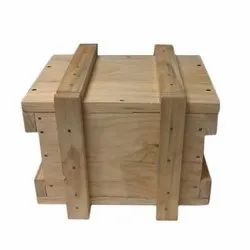 Edible & Non-Edible Rectangle Pine Wood Packing Box, Box Capacity: 201-400 Kg, 10-20 mm