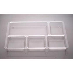 Transparent Bhojan Thali Polycarbonate Plate