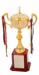 Diamond Metal Cup Trophy