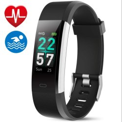 OMNiX ID115 PRO HR Fitness Activity Tracker
