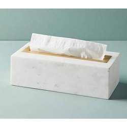 Marble Tissue Box