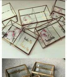 Rayan International Rectangular Metal glass Square box, For Junction Boxes, Dimension: Custom