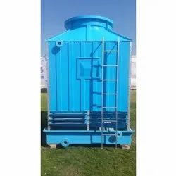 Three Phase Fiberglass Reinforced Polyester Square Cooling Tower, Capacity: 5000-10000l, 220-380 V