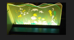 Edge Lit Art, Size: Up To 3 Feet By 2 Feet