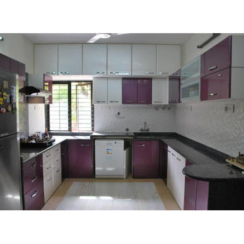 Modern U Shape Modular Kitchen, Rs 50000 /set, Kraft