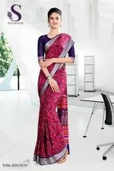 Fancy Uniform Sarees