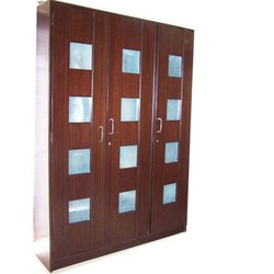 Plywood 3 Door Wooden Wardrobe, Features: Termite Free, Warranty: 5 Year