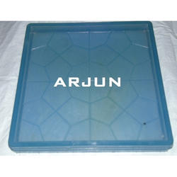Blue Chequered Tile Mould