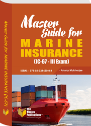 Master Guide For Marine Insurance (IC-67) Book