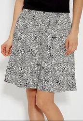 White Black Short Women Skirts