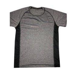 Cotton Round Mens Casual T Shirt