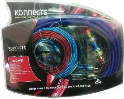 Konnect Amply Wiring Kit 8g on pt cruiser car kit, amp cable, amp installation kit, car amp kit, amp connectors, amp wire kit, amp install kit,
