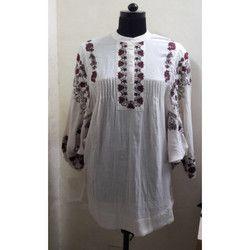 Kimono Sleeves Embroidery Tunic
