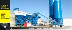 Concrete Batching Plant, Capacity: 30 cu.m/hr