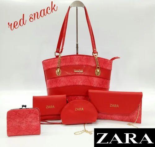 9d24690e2 Zara Brand Designer Bags Combo set 5 in 1 at Rs 3000  set