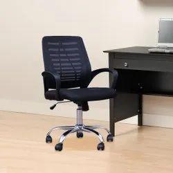 Fabric Black Mesh Office Revolving Chair