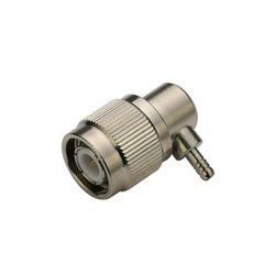 3AN TELECOM 3AN-002-0032 TNC Connector Right Angle Male Crimp Type For Cable RG316, Contact Material: Brass