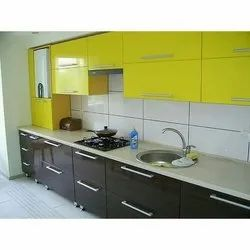 Designer Straight Modular Kitchen