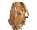 Genuine Leather Retro Rucksack Backpack